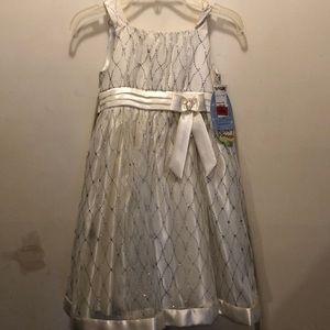 Beautiful size 6x Cinderella flower girl dress